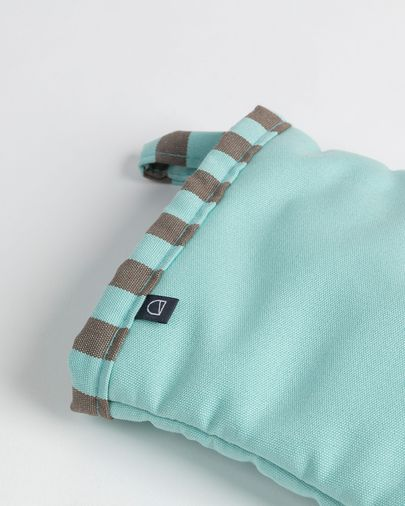 Oven mitt Shire turquoise