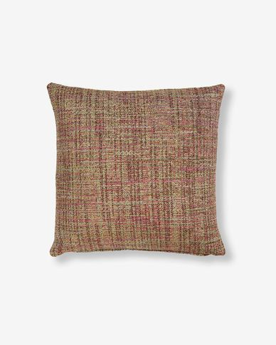 Boho cushion cover 45 x 45 cm pink