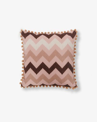 Zadi cushion cover pink
