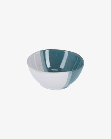 White and blue Nelba bowl