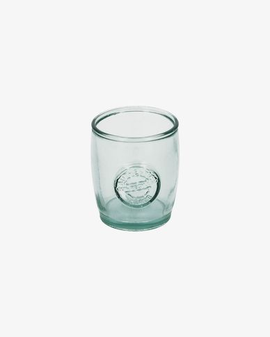 Bocal Tsiande en verre transparent