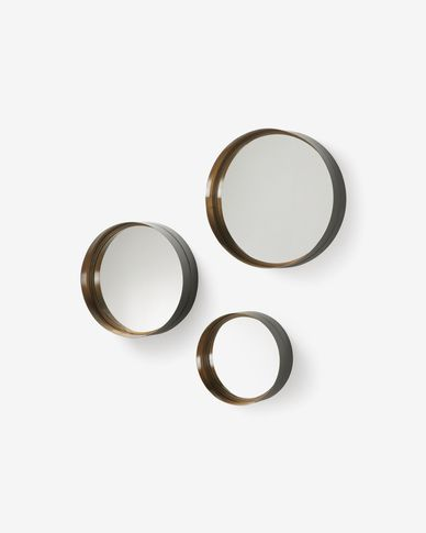 Wilton set of 3 mirrors