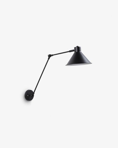 Dione wall lamp black