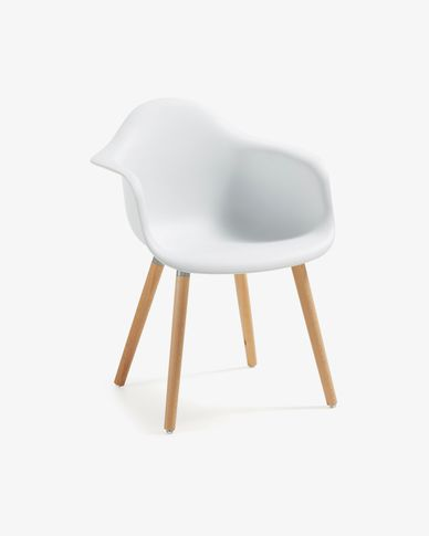 White Kevya chair