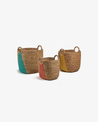 Mast set of 3 baskets multicolor