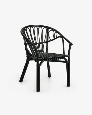 Black Ganga armchair