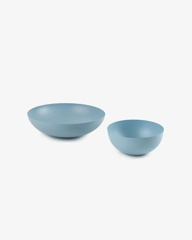 Stich set of 2 bowls blue