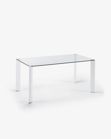 Spot table 160 x 90 cm white