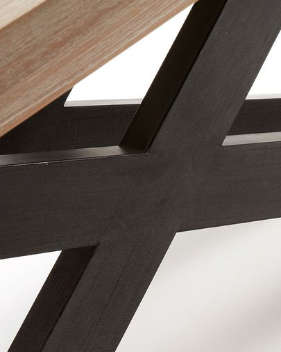 Tiva table 160 x 90 cm cm crossed legs