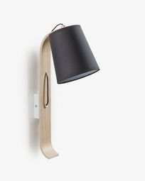 Repcy wall lamp black