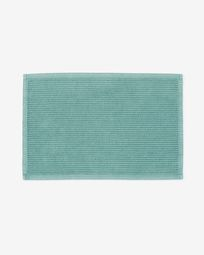 Miekki bath mat light turquoise