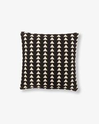 Housse de coussin Atty triangles