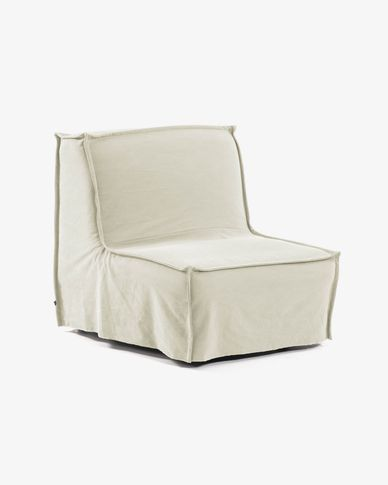 Lyanna sofa bed 90 cm white