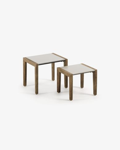 Set Clodie 2 side tables