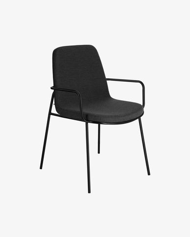 Chair Giulia dark grey