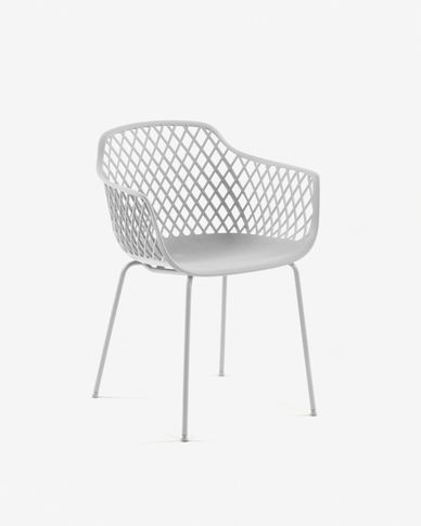 White Quinn chair