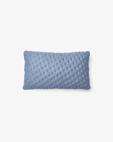 Kam cushion quilted 30 x 50 cm light blue