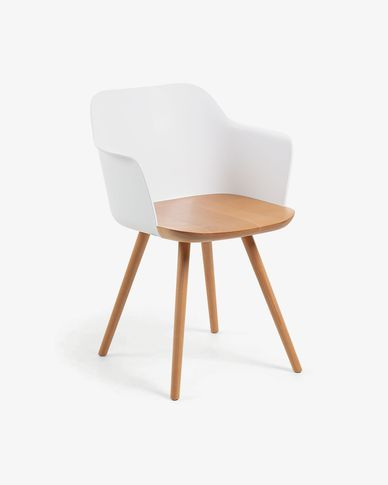 White Bjorg chair