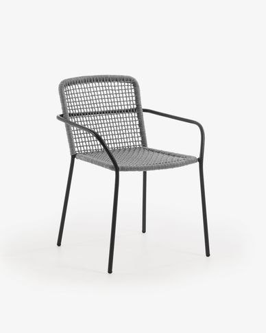 Ellen armchair grey