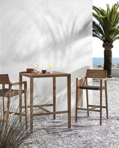 Square Coline table 80 x 80 cm