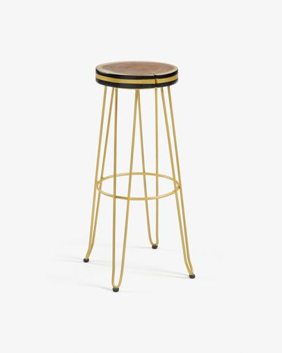 Golden Faye barstool height 74 cm