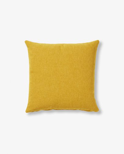 Coussin Kam 45 cm moutarde1