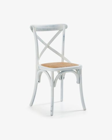 White Alsie chair