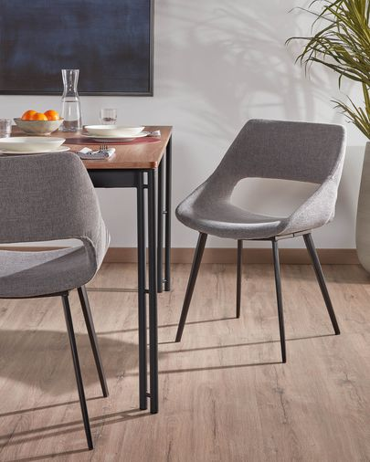 Light grey Hest chair