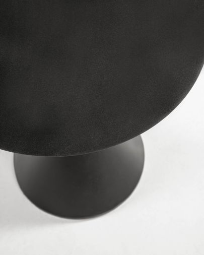 Yinan side table Ø 48 cm black