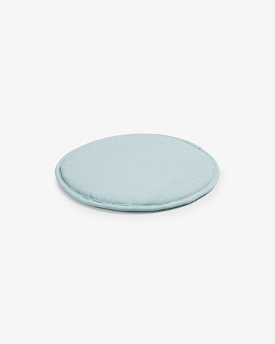 Silke cushion light blue