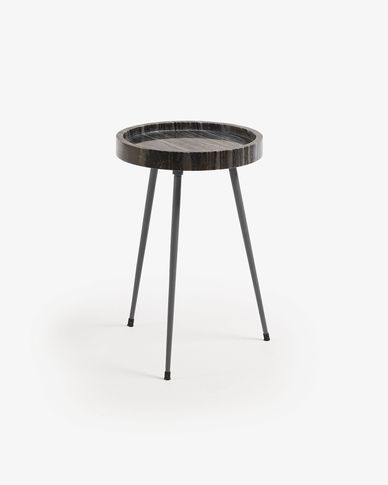 Grey Rubie side table Ø 33 cm