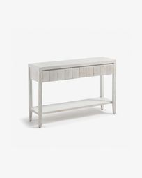 Words console table