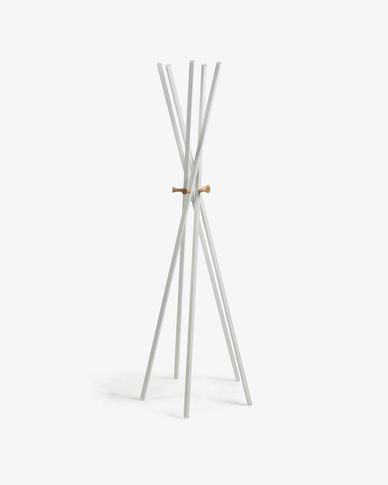 Chelsey white coat rack 170 cm