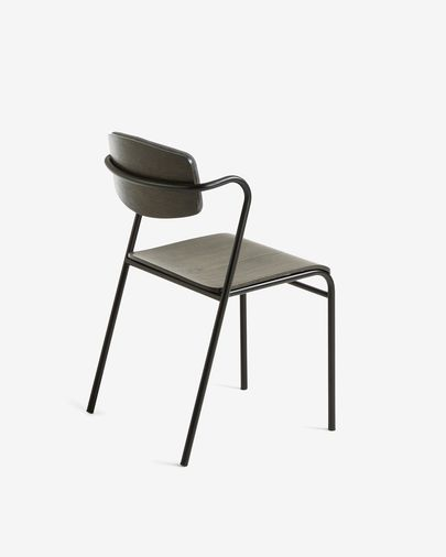 Milian chair with armrests