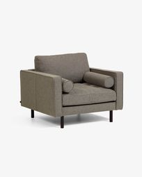 Debra grey armchair