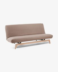 Koki sofa bed abric brown