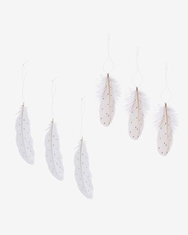 Artik set of 6 feathers