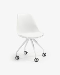 Ralf Chair leg Epoxy white