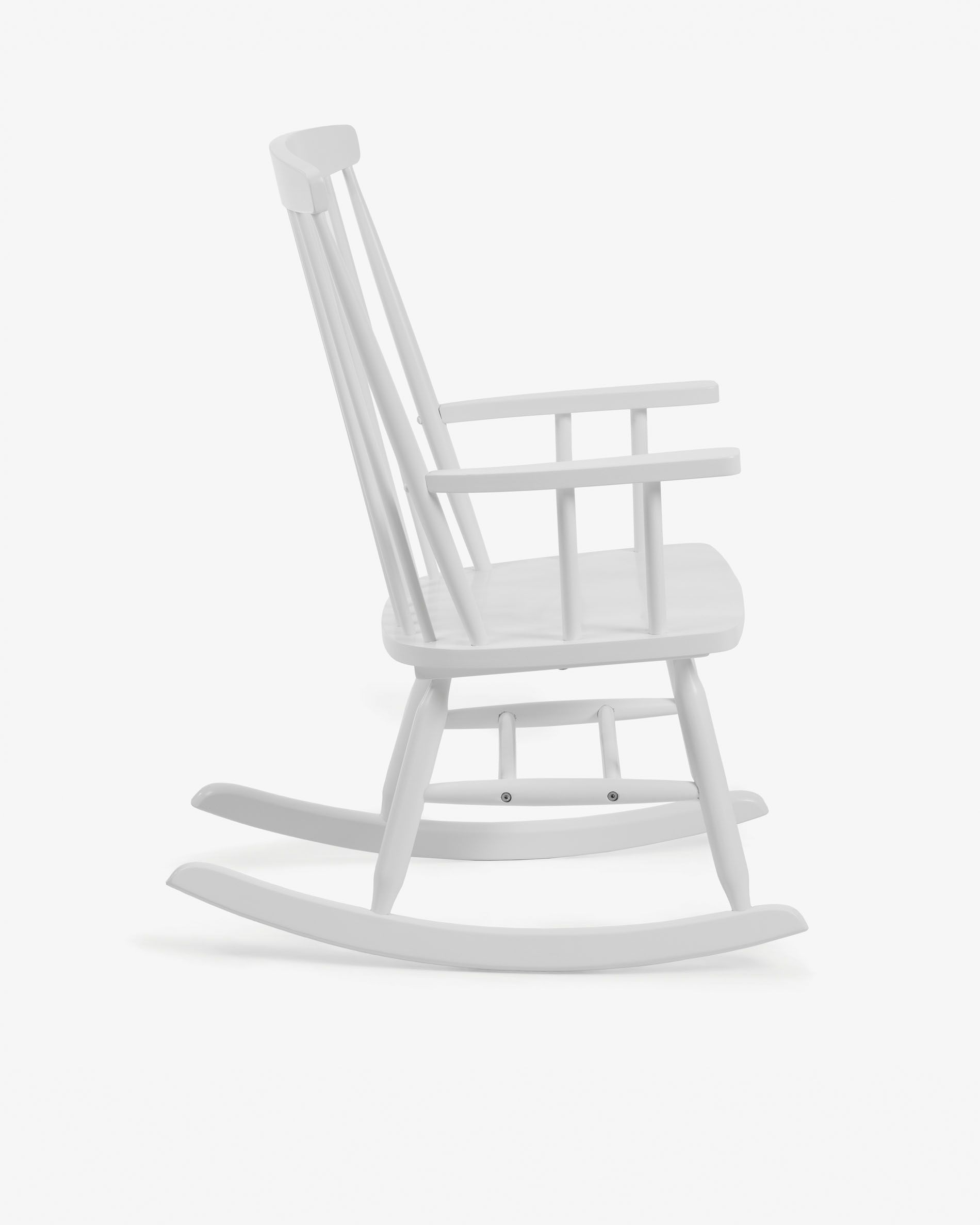 White Tenzo Rocking Chair Kave Home