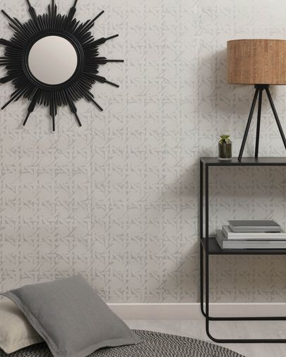 Viveka 10 x 0,53 m grey and silver wallpaper