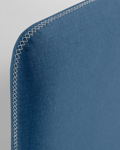 Dark blue Dyla bed cover 90 x 190 cm