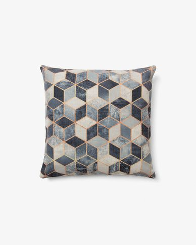 Imma cushion cover 45 x 45 cm grey