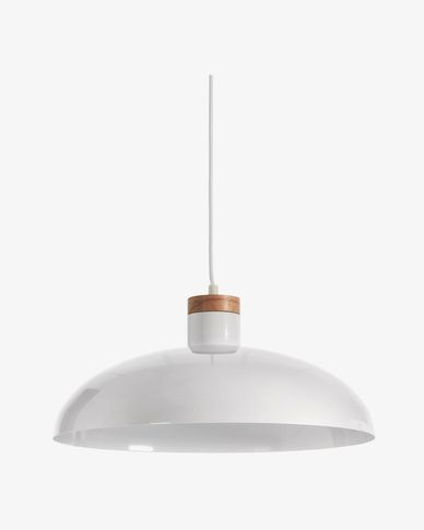 Lampe suspension Gotram blanc
