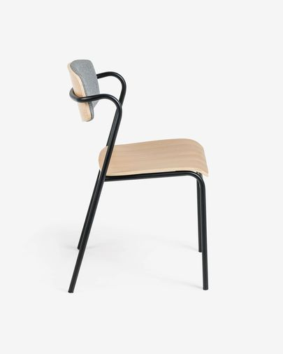 Zaha oak wood chair
