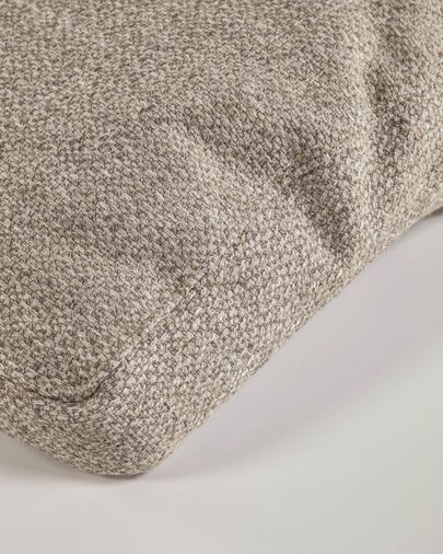 Set of two Noa armrest cushions in beige