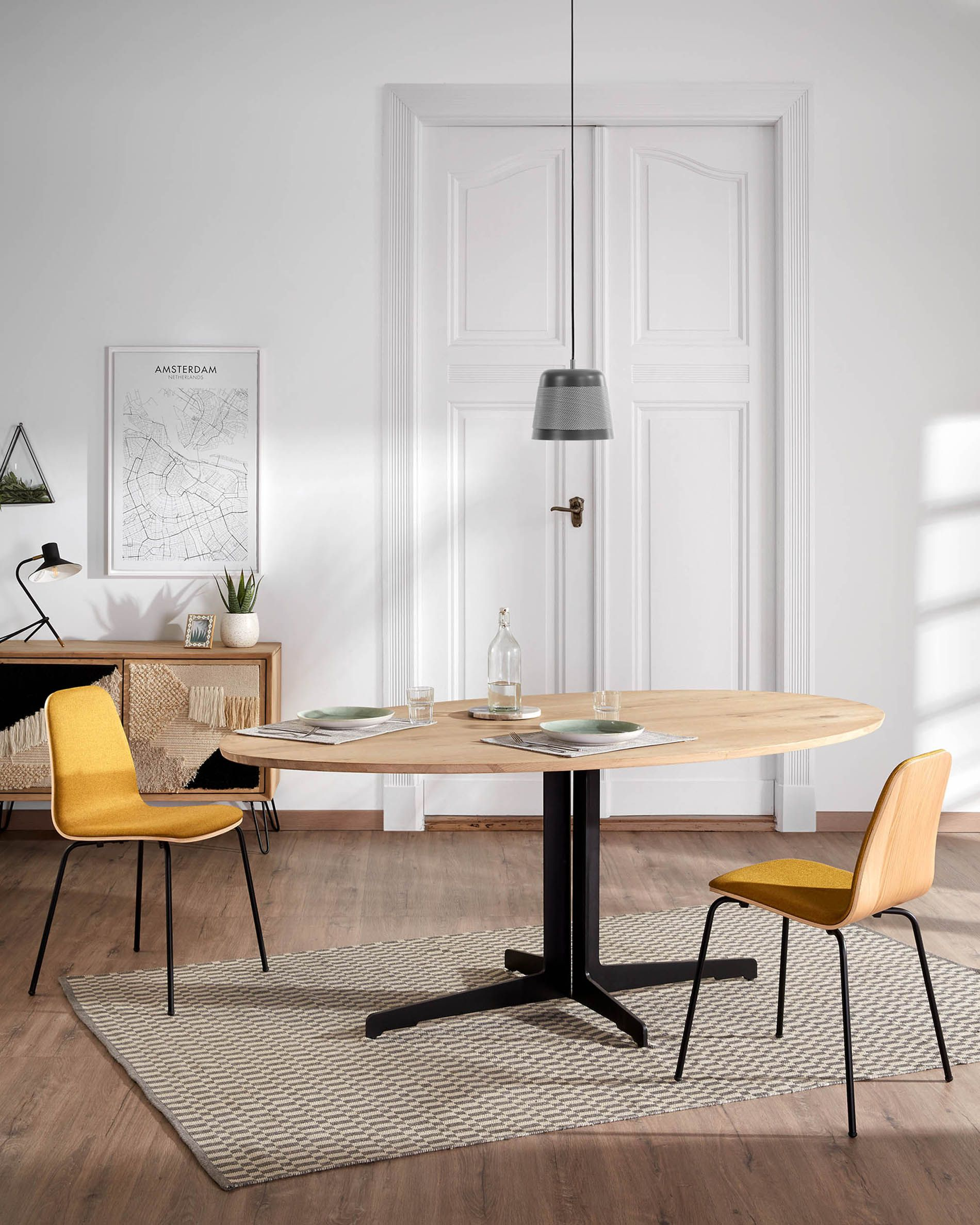 Mustard Canele Chair Kave Home