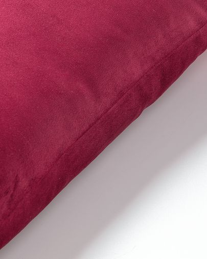 Lita cushion cover 30 x 50 cm burgundy velvet