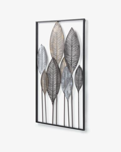 Wall panel Leaves  52,5 x 95 cm