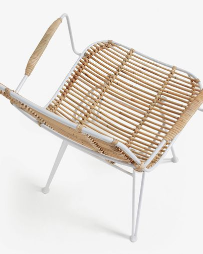 White Tishana chair