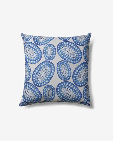 Greace cushion cover sea